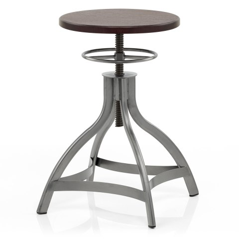 Spark Antique Steel Stool