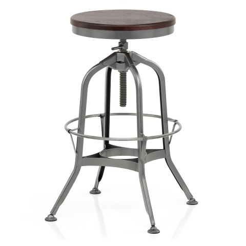 Volt Toledo Style Antique Steel Stool