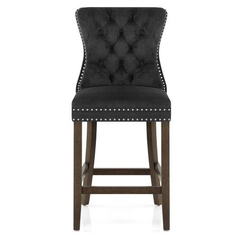 Prime Kensington Wooden Stool Black Velvet Uwap Interior Chair Design Uwaporg