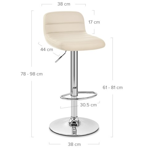 Nexus Bar Stool Cream