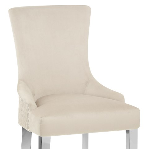 Fontaine Chair Mink Velvet