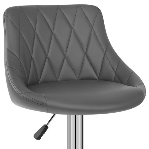 Stitch Bar Stool Grey