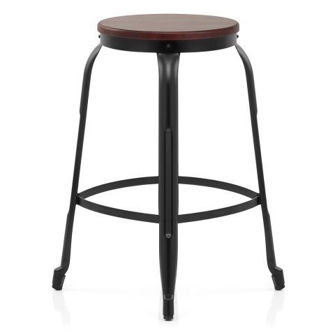 Amp Bar Stool Black