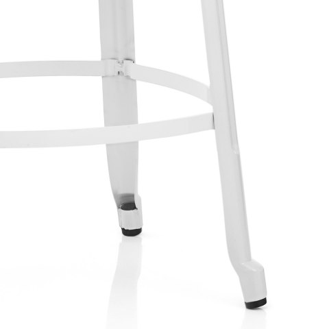 Amp Bar Stool White