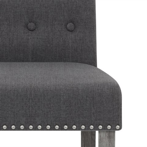 Moreton Dining Chair Charcoal Fabric