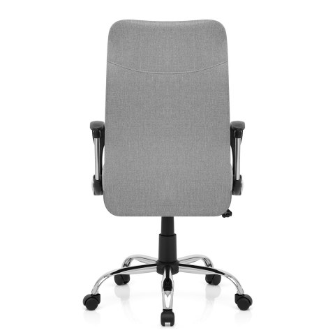 Kansas Office Chair Grey Fabric