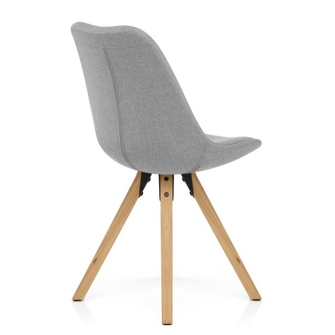 Aero Dining Chair Grey Fabric