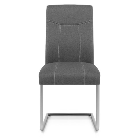 Lancaster Dining Chair Grey Fabric