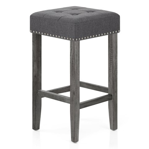 Dove Bar Stool Charcoal Fabric