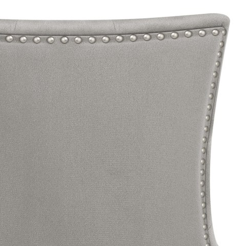 Etienne Dining Chair Grey Velvet