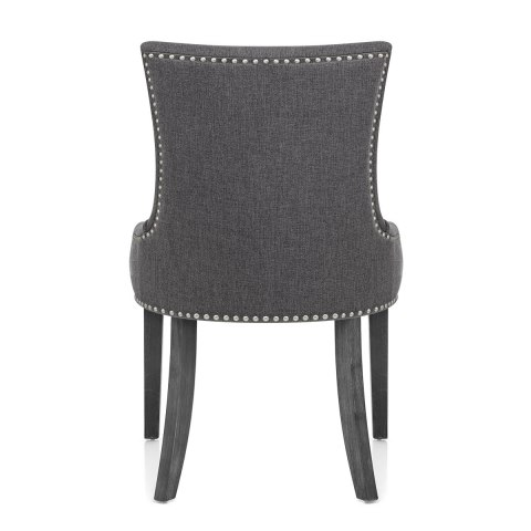 Etienne Dining Chair Charcoal Fabric