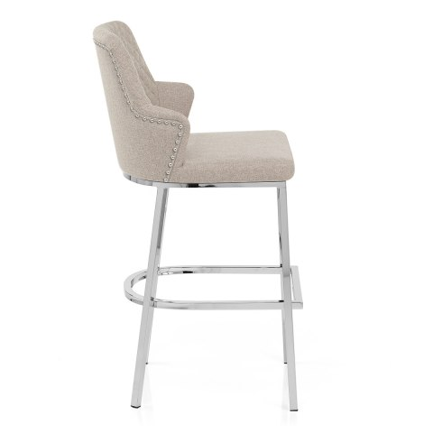 Arden Bar Stool Tweed Fabric
