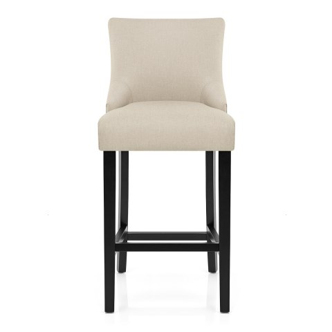 Bentley Bar Stool Cream Fabric