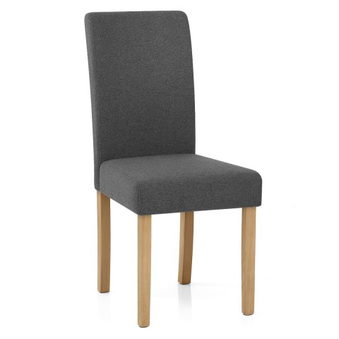 Jackson Dining Chair Charcoal Fabric