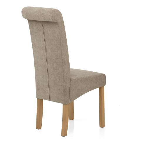 Carolina Dining Chair Mink Fabric