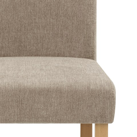 Jackson Dining Chair Mink Fabric