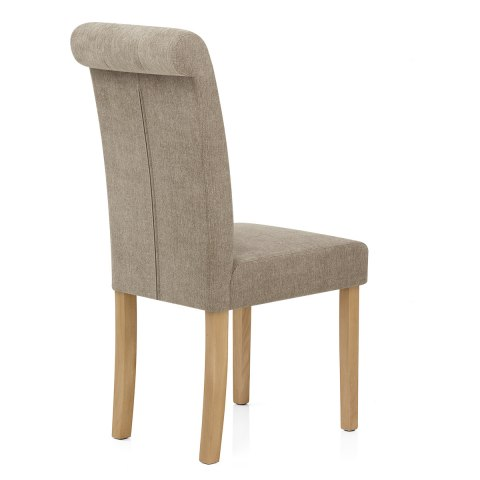 Portland Dining Chair Mink Fabric