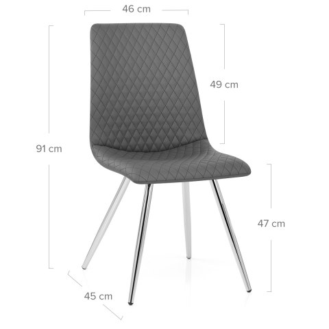 Trevi Dining Chair Charcoal