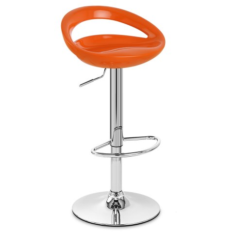 Crescent Bar Stool Orange Atlantic Shopping