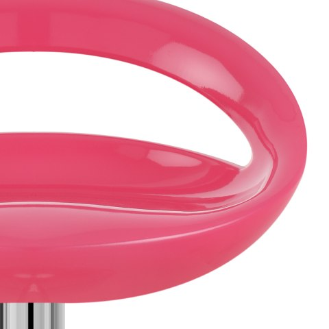 Crescent Bar Stool Pink
