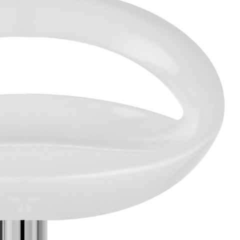 Crescent Bar Stool White
