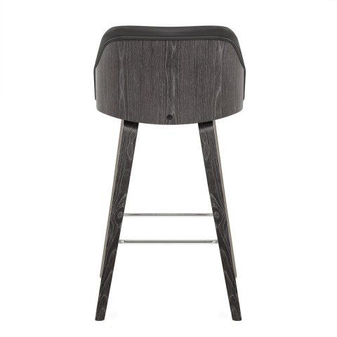 Adele Wooden Stool Charcoal