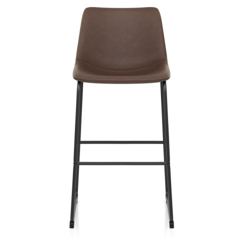 Bucket Stool Antique Brown