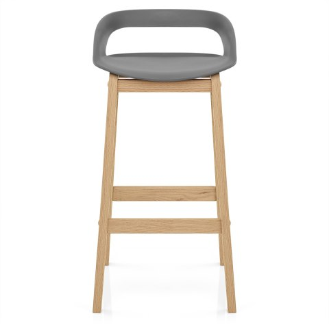 Phenomenal Crew Wooden Bar Stool Grey Caraccident5 Cool Chair Designs And Ideas Caraccident5Info