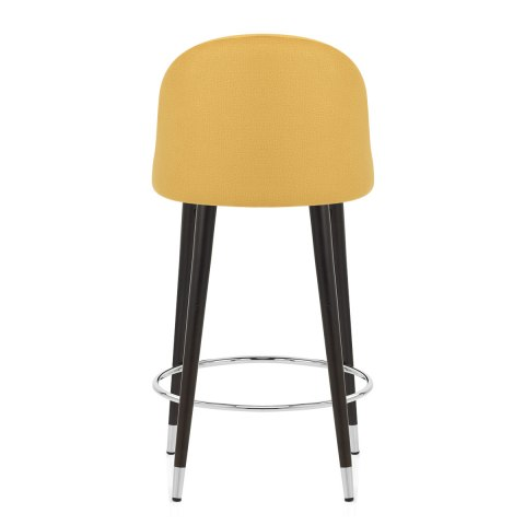 Polo Bar Stool Mustard Fabric