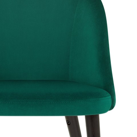 Polo Dining Chair Green Velvet
