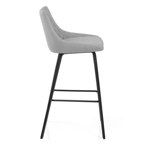 Regent Bar Stool Light Grey