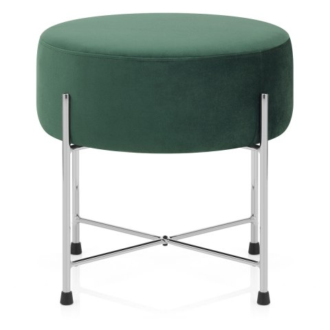 Minuet Stool Green Velvet