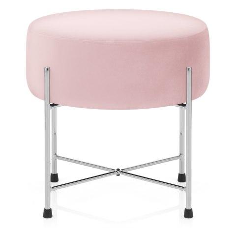 Tremendous Minuet Stool Pink Velvet Cjindustries Chair Design For Home Cjindustriesco