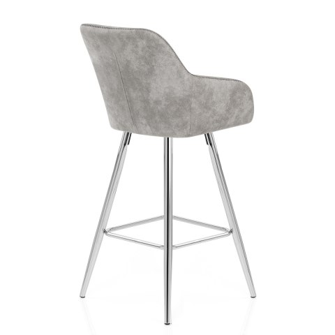 Mason Bar Stool Light Grey