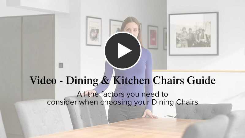 Dining Chair Advice Video