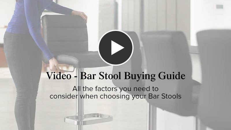 Bar Stool Advice Video