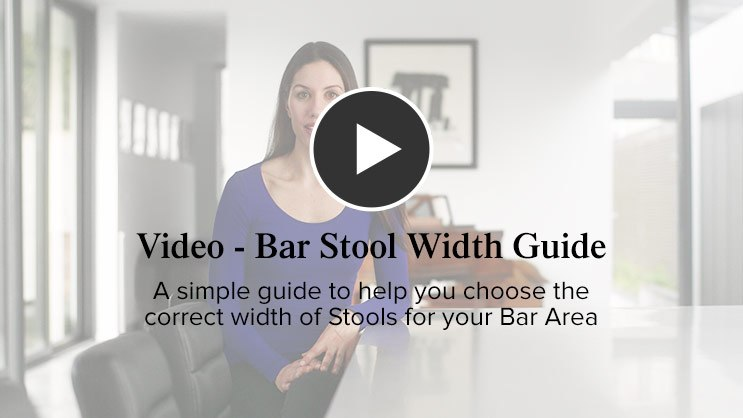 Bar Stool Width Guide Video