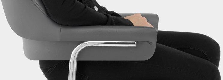 Skyline Bar Chair With Armrests
