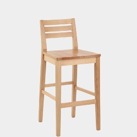 Aaron Wooden Stool