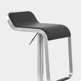 Art Bar Stool Black