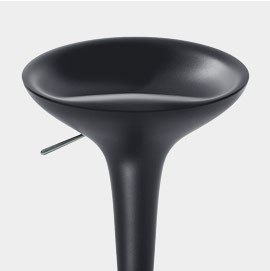 Bombo Bar Stool Black