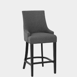 Cavendish Bar Stool Charcoal Fabric