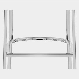 Chrome Bracing Bar Footrest
