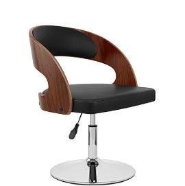 Evelyn Chair Walnut & Black