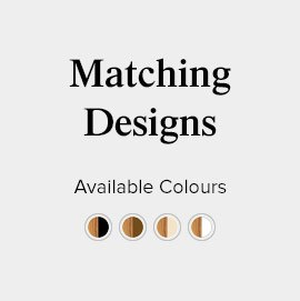 Matching Ascot leather bar stool and chair design colours