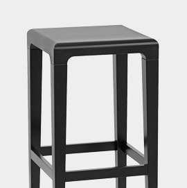 Mechu Bar Stool Black