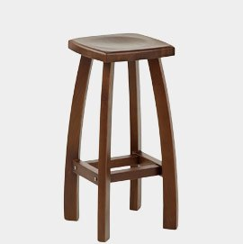 Oslo Walnut Bar Stool