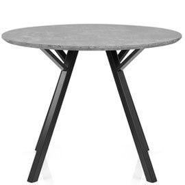 Quest 100cm Dining Table Concrete