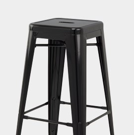 Replica Tolix Stool Black