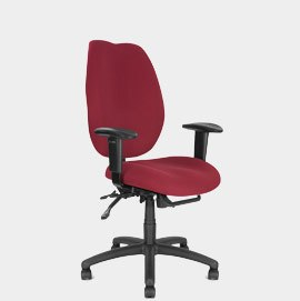 Rome Office Chair Wine